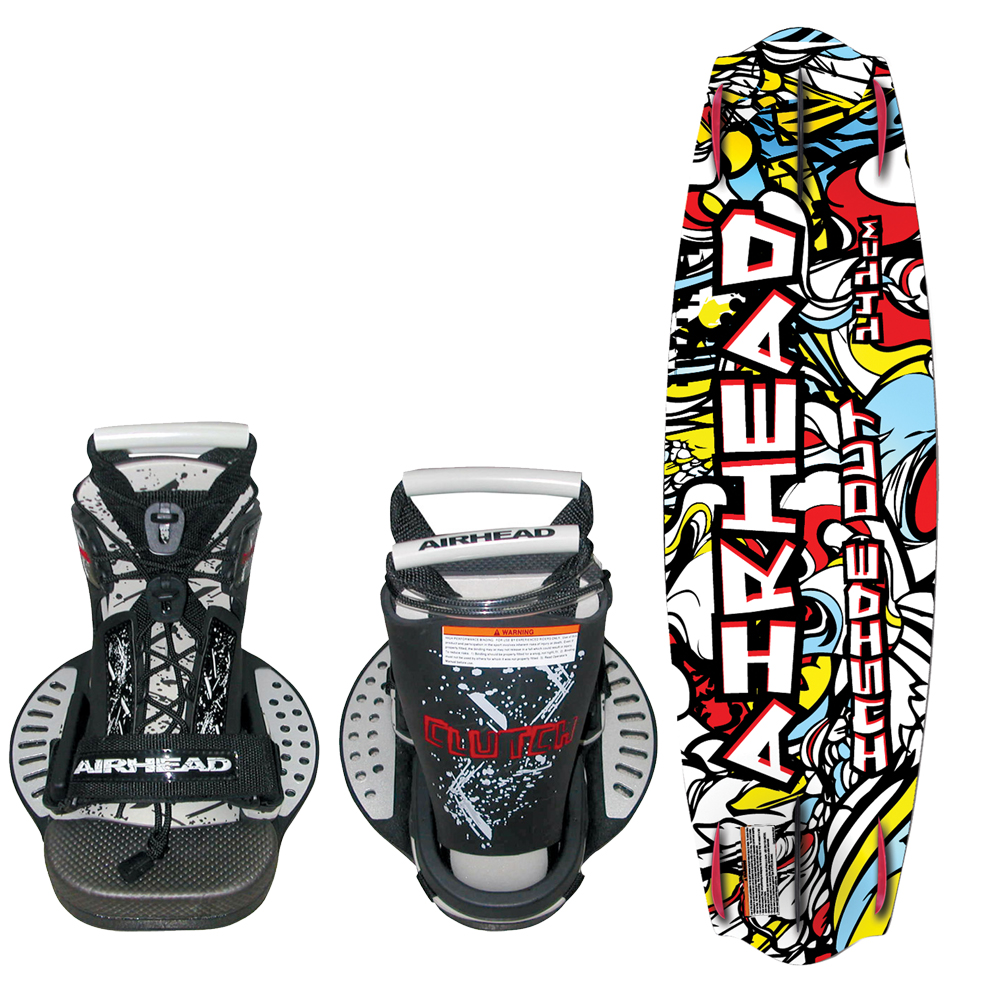 Airhead Watersports AIRHEAD Inside Out Wakeboard w/Clutch Bindings at Sears.com